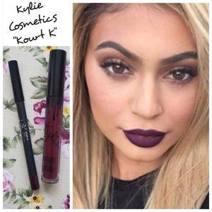 Kylie Cosmetics Kourt K Lipkit